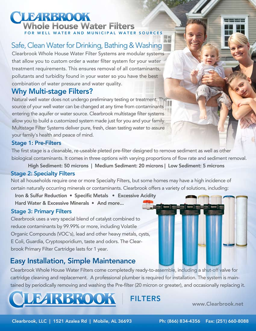Clearbrook Whole House Multistage Water Filter